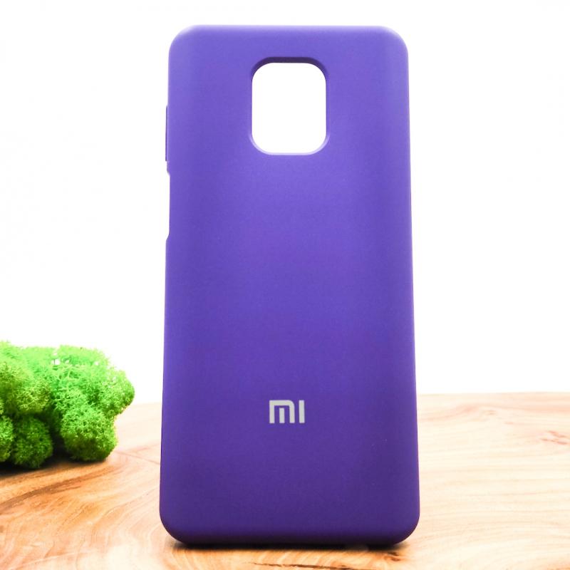 NEW Silicone case Xiaomi Redmi Note9s/Pro Purple
