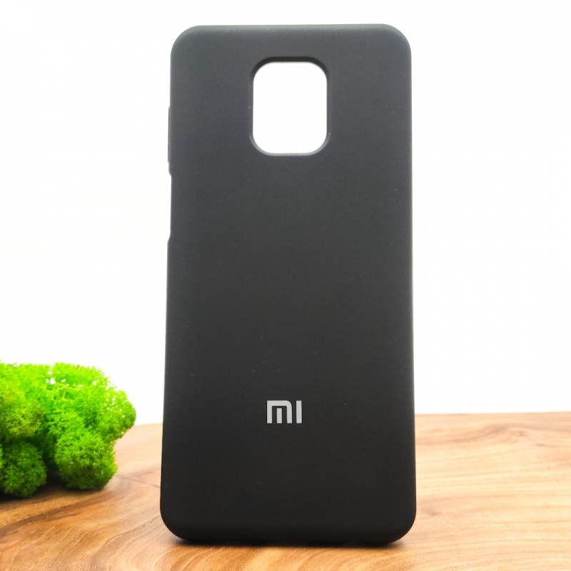 NEW Silicone case Xiaomi Redmi Note9s/Pro Black