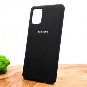 NEW Silicone case Samsung A71 Black