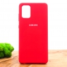 NEW Silicone case Samsung A71 Red