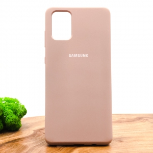 NEW Silicone case Samsung A71 Matte Pink