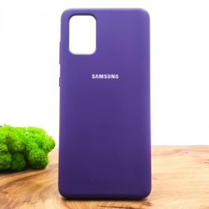 NEW Silicone case Samsung A71 Purple