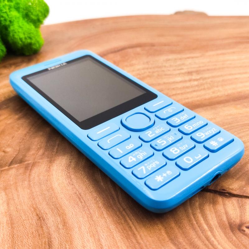 Кнопочный телефон Nokia 206 Blue