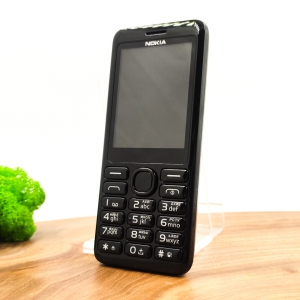 Кнопочный телефон Nokia 206 Black