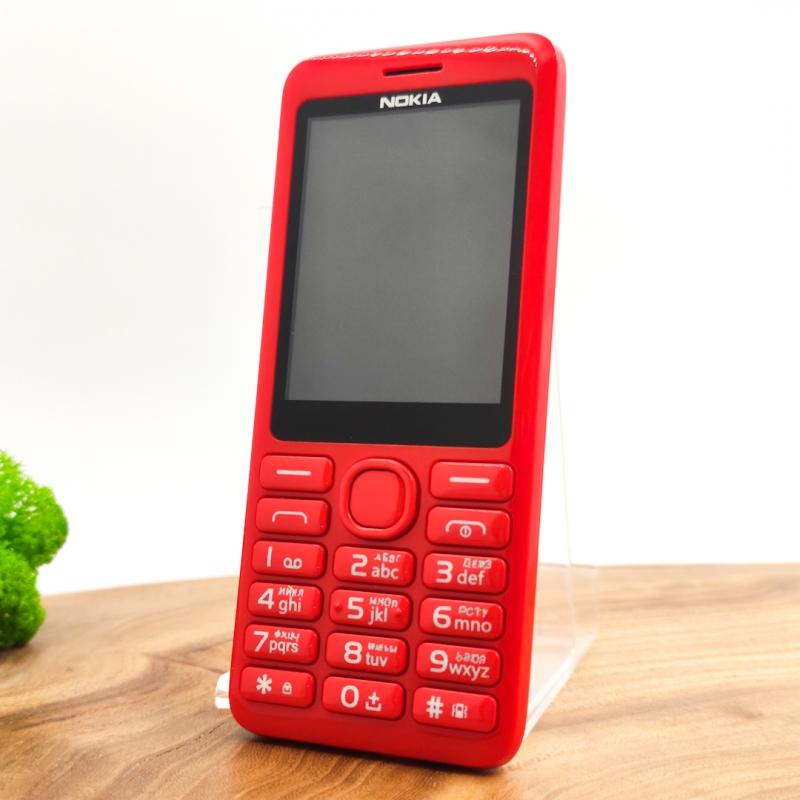 Кнопочный телефон Nokia 206 Red