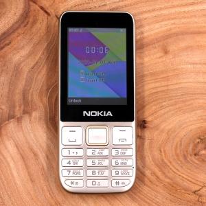 Кнопочный мобильный телефон в металлическом корпусе Nokia C5-00 (2021) Gold
