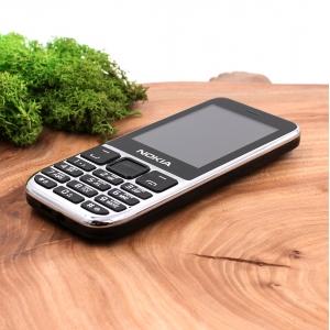 Кнопочный мобильный телефон в металлическом корпусе Nokia C5-00 (2021) Black