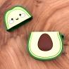 Ударопрочный силиконовый чехол для Apple AirPods Avocado