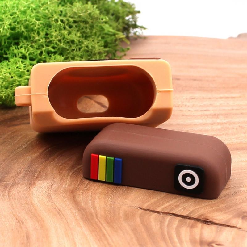 Ударопрочный силиконовый чехол для Apple AirPods Rubber Insta