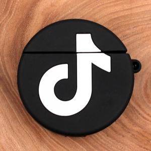Ударопрочный силиконовый чехол для Apple AirPods TikTok