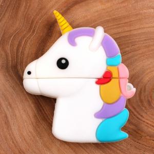 Ударопрочный силиконовый чехол для Apple AirPods Unicorn