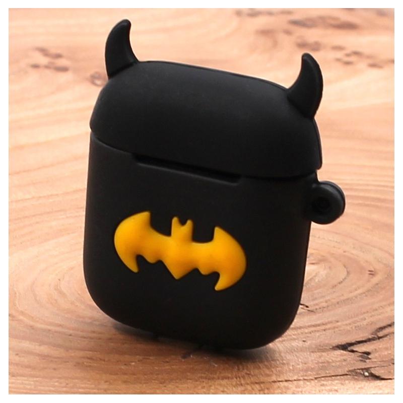 Ударопрочный силиконовый чехол для Apple AirPods Batman