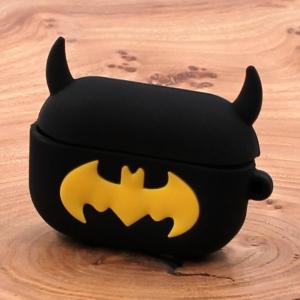 Ударопрочный силиконовый чехол для Apple AirPods Pro Rubber Batman