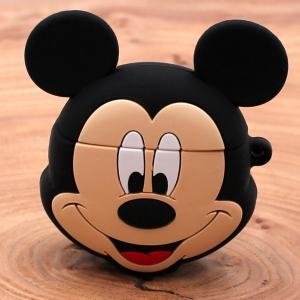 Ударопрочный силиконовый чехол для Apple AirPods Pro Rubber Mickey Mouse