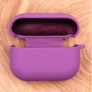 Оригинальный матовый чехол Silicone Case для AirPods Pro Original Assembly Purple