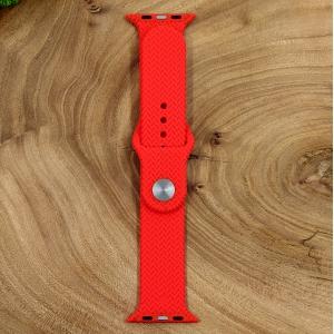 Универсальный силиконовый ремешок для Apple Watch Braided Red 42/44mm
