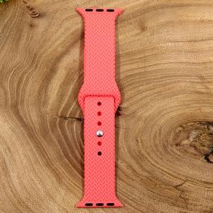 Универсальный силиконовый ремешок для Apple Watch Braided Pink 38/40mm