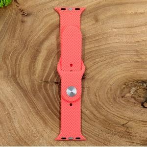 Универсальный силиконовый ремешок для Apple Watch Braided Pink 42/44mm