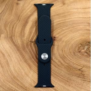Универсальный силиконовый ремешок для Apple Watch Braided Gray 42/44mm