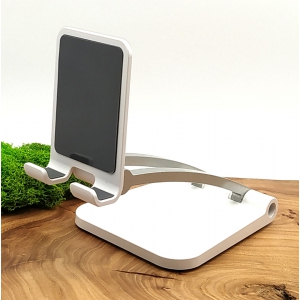 Настольная металлическая подставка держатель для телефона и планшета Q009
