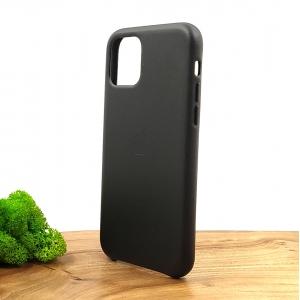 Оригинальный кожаный чехол-накладка Molan Leather Case for Apple iPhone 11 Pro Black