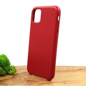 Оригинальный кожаный чехол-накладка Molan Leather Case for Apple iPhone Iphone 11 Red