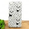 Чехол накладка LUXO Panda&Bears силиконовый для Iphone 7G+