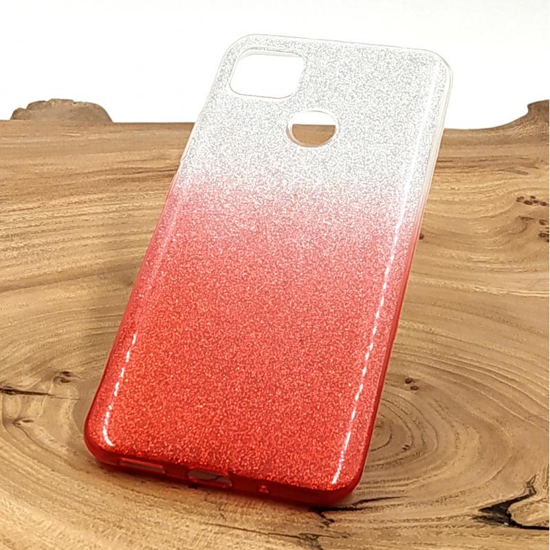 Силиконовый чехол VAJA градиент для Xiaomi Redmi9C Pink