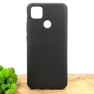 Силиконовый матовый чехол-накладка Simin Style для Xiaomi Redmi9c Black