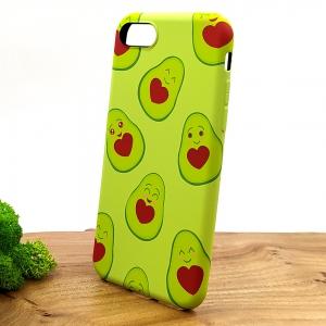 Люминесцентный чехол накладка LUXO Happy Avocado Iphone 7G