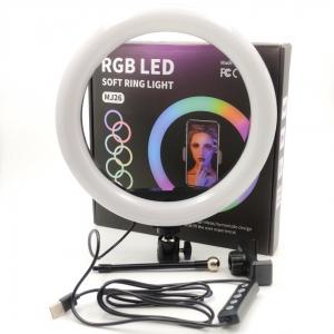 NEW Selfie комплект под треногу RGB 26cm (LED+USB control)