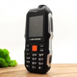Кнопочный мобильный телефон Land Rover 2021 Big Battery Black