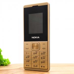 Кнопочный мобильный телефон с фонариком Nokia 528 Gold