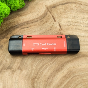 NEW Картридер USB/Micro USB/Type-C to SD/Micro SD/USB JY-281