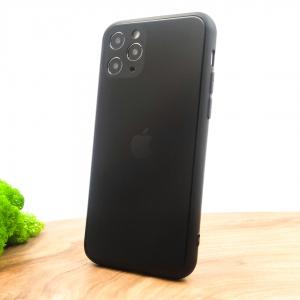 Оригинальный стеклянный чехол HOCO Glass Case для iPhone 11 Pro Black