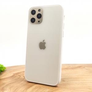 Оригинальный стеклянный чехол HOCO Glass Case для iPhone 11 Pro White