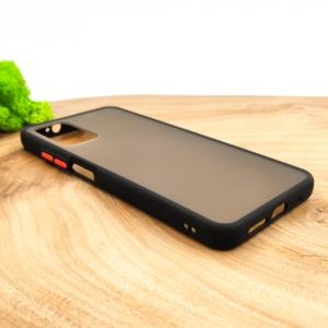 Противоударный полиуретановый чехол Smoke case для Samsung M31S Black
