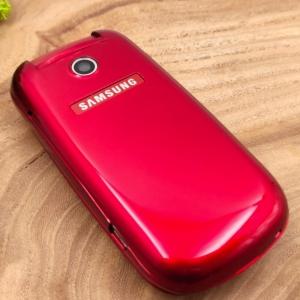 Кнопочный телефон раскладушка Samsung E1272 Red