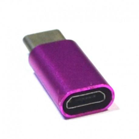 Переходник с ЗУ Micro USB - TYPE-C