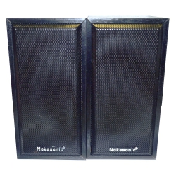 Деревянные колонки Nokasonic NK-245 для ноутбука premium class + микрофон