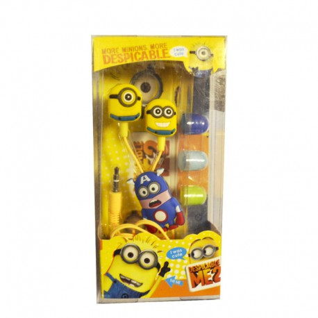 Вакуумные наушники Миньены Yellow (Желтый)
