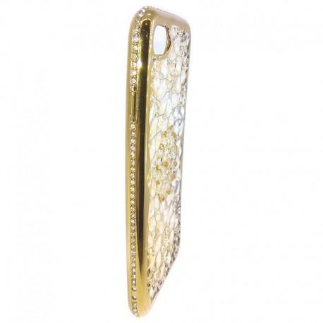 Силиконовый чехол Joyroom iPhone 7G Gold (Золотой)