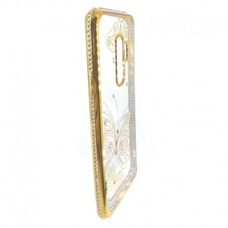 Чехол Kings Bar Butterfly Samsung Galaxy S9+ Gold (Золотой)