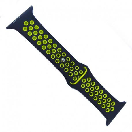 Ремешок для Watch 38мм Green/Black (Зеленый/Черный)