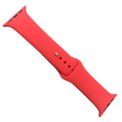 Силиконовый ремешок с софт-тач покрытием Apple Watch 38-40мм Red