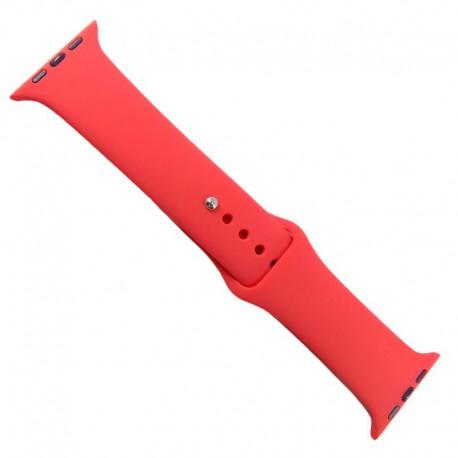 Силиконовый ремешок с софт-тач покрытием Watch Navy Storm 42-44мм Red