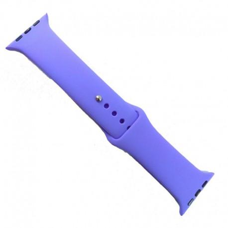 Силиконовый ремешок с софт-тач покрытием Watch 42-44мм Purple