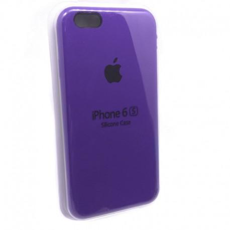 Силиконовый чехол (silicone case) iPhone 6G/6S Ultra Violet
