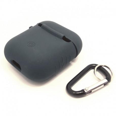 Чехол Jacket для наушников AirPods Black (Черный)