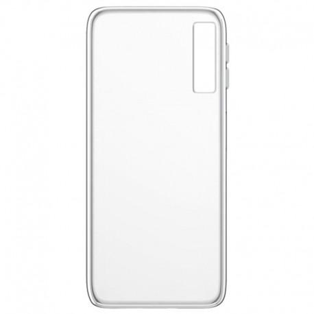Силиконовый ультратонкий чехол Remax Samsung Galaxy A7 2018 (A750) White (Белый)